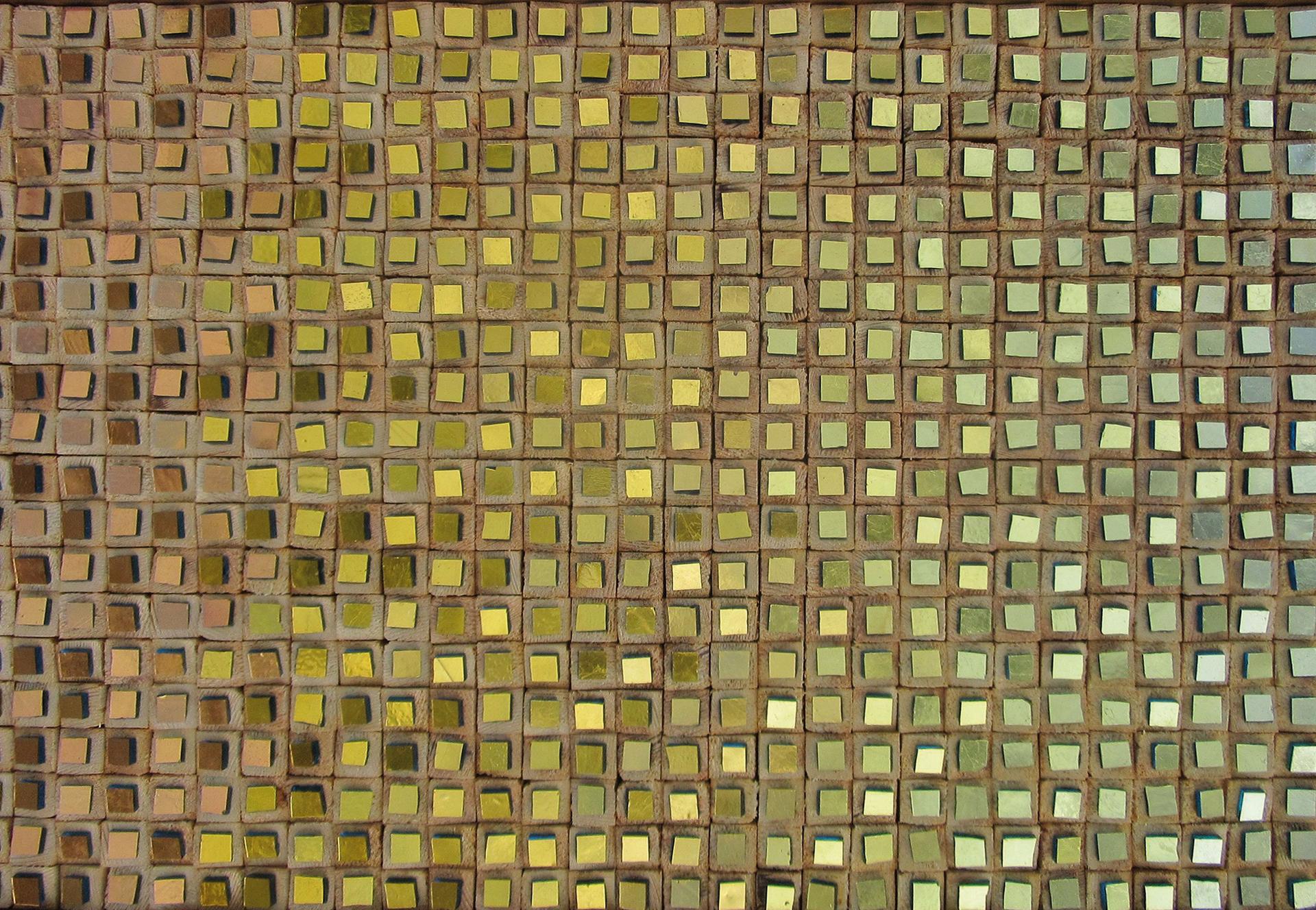 Composizione Oro E Legno 1-Mozaïekatelier Colorito-Natasja Mulder