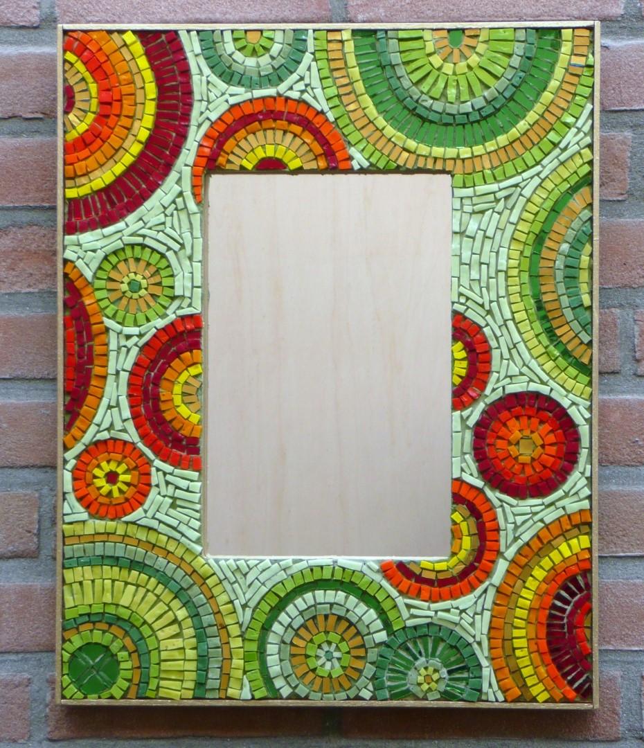 Dream mirror -mirror-spiegellijst-- Mozaïekatelier Colorito- Natasja Mulder
