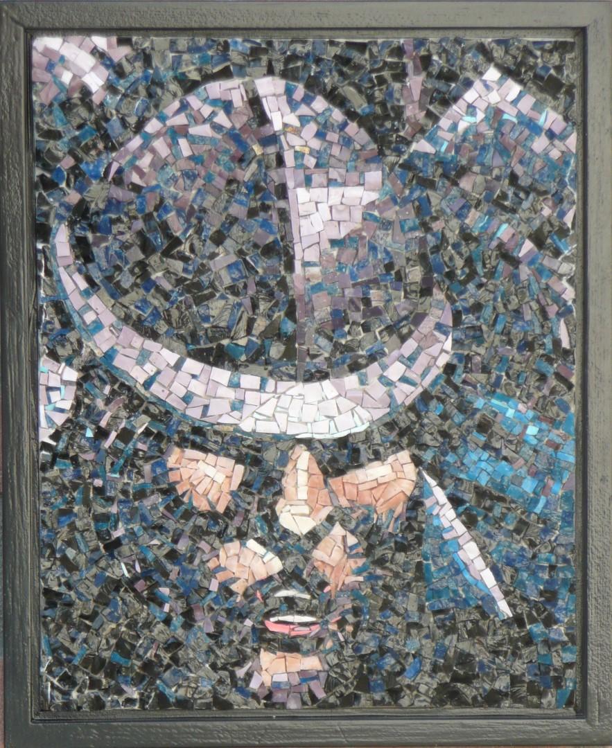 La Mitragliatrice-portret-Mozaïekatelier Colorito-Natasja Mulder