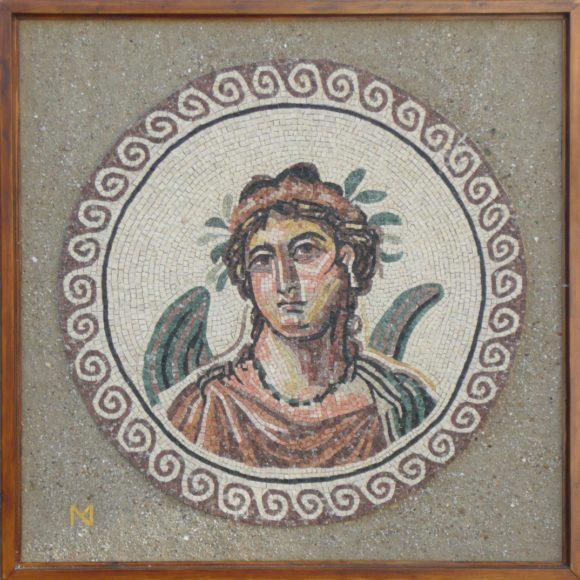 La Primavera-roman mosaic- marble-Mozaïekatelier Colorito-Natasja Mulder