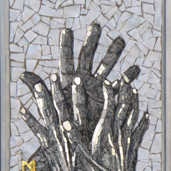 Le tre mani-vrij werk- Mozaïekatelier Colorito-Natasja Mulder