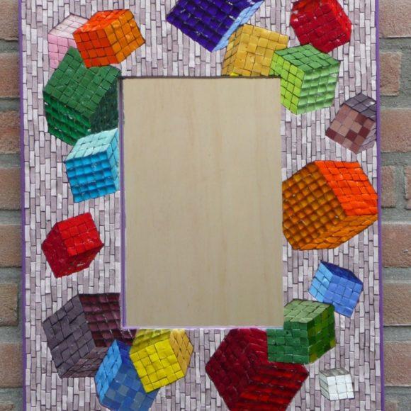 Mirror Cubes -Mirror Movement--Orsoni smalti - Mozaïekatelier Colorito-Natasja Mulder
