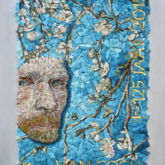 Ode aan van Gogh- Vincent van Gogh- Orsoni smalti-Mozaïekatelier Colorito-Natasja Mulder