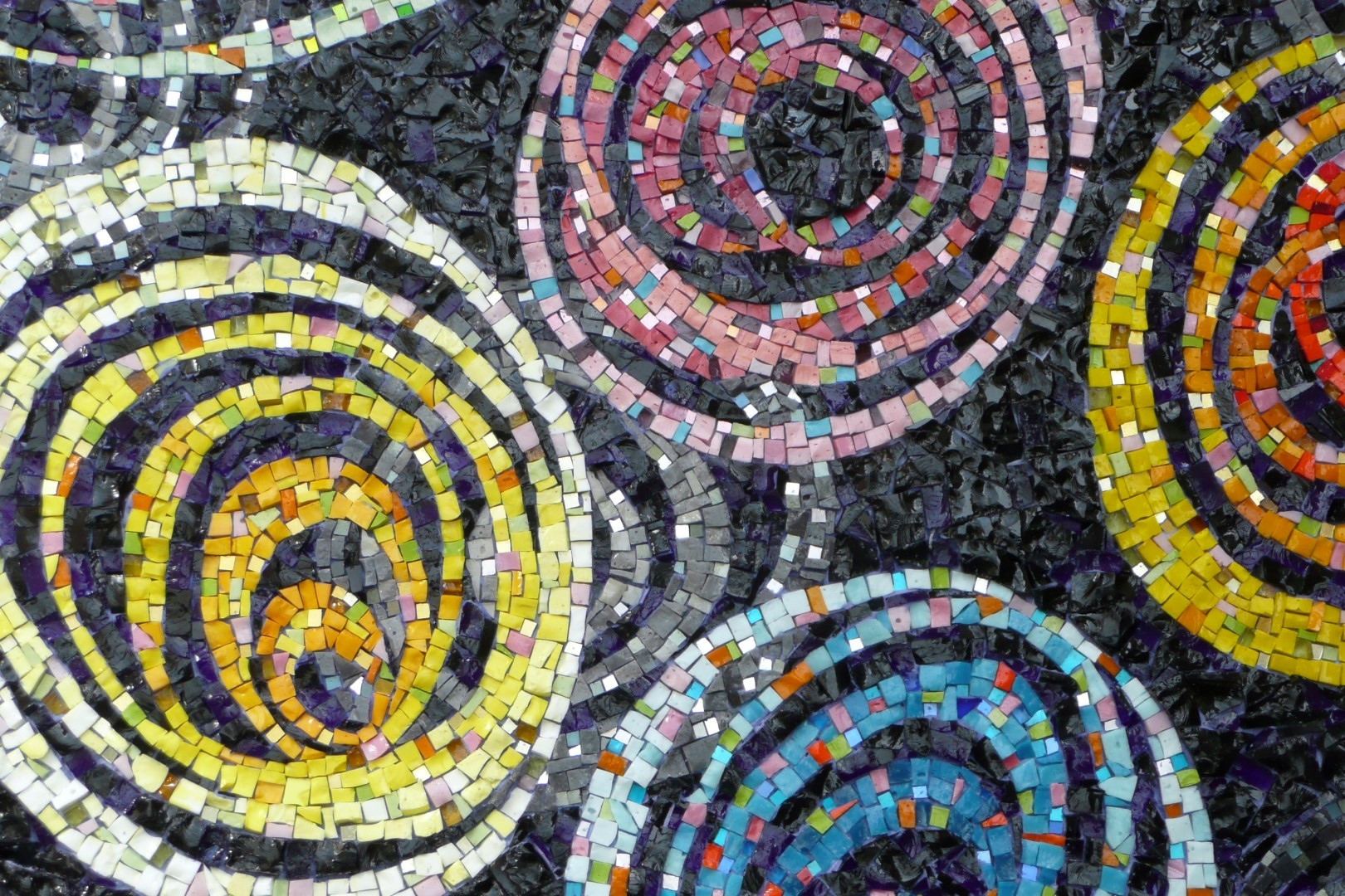 detail Mailky Way - Mozaiekatelier Colorito-Natasja Mulder