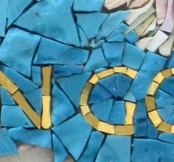 detail Ode aan van Gogh-Mozaiekatelier Colorito-Natasja Mulder (2)