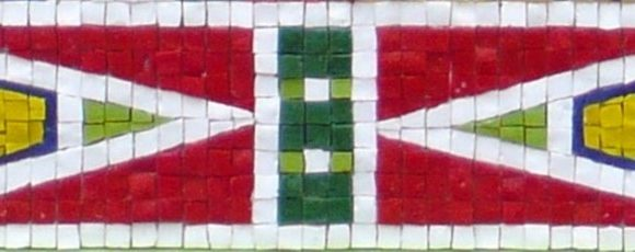 detail Papuaman- Mozaiekatelier Colorito-Natasja Mulder (2)