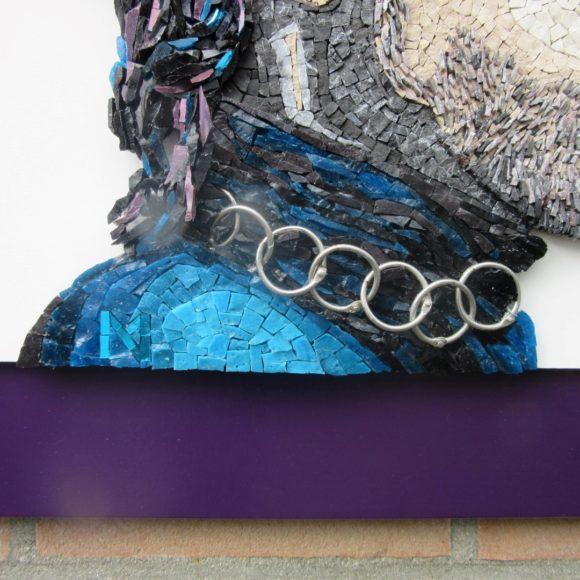 detail Purple Rain- Mozaiekatelier Colorito-Natasja Mulder