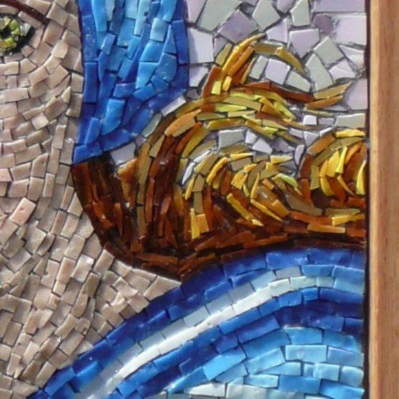 detail Sibille van Delphi-Natasja Mulder-Mozaiekatelier Colorito