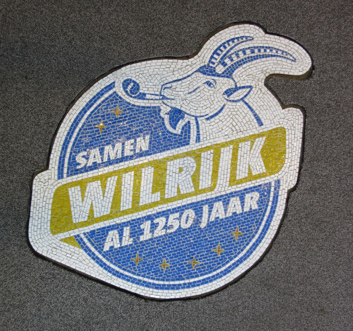 Mosaic Goat logo Districtshuis Wilrijk