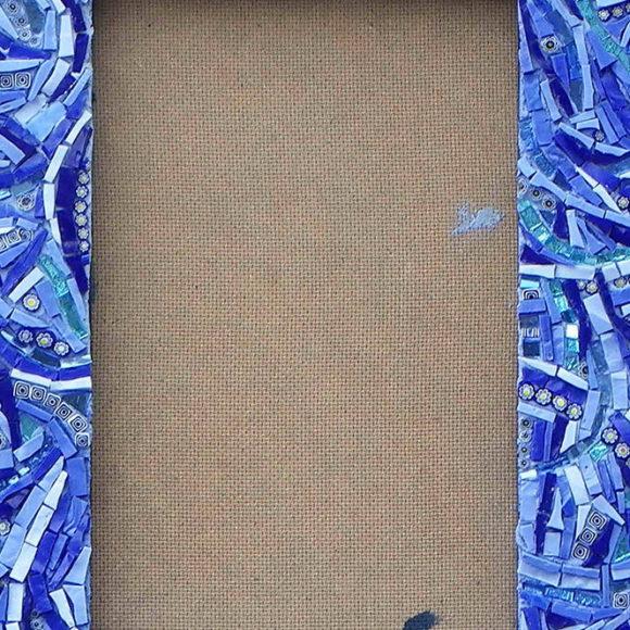 mirror-blue-wavy-2x2-mirro-spiegel-Mozaïekatelier Colorito-Natasja Mulder