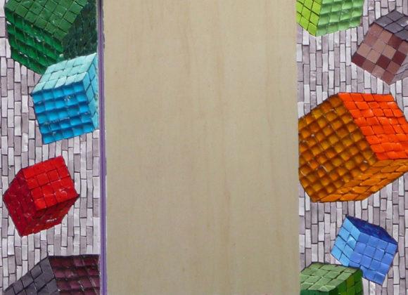 mirror-cubes-2x2- mirror- Mozaïekatelier Colorito-Natasja Mulder