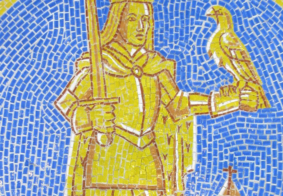 Mosaic St. Bavo districtshuis Wilrijk