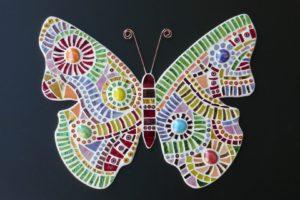 mozaïekpakket vlinder-Mozaïek-atelier Colorito
