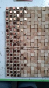 project Composizione Oro e Legno 1-3- Mozaiekatelier Colorito-Natasja Mulder