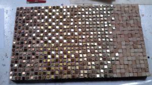 project Composizione Oro e Legno 1-5- Mozaiekatelier Colorito-Natasja Mulder