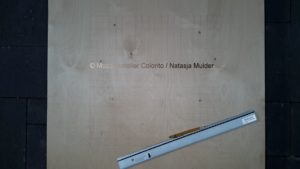 project Composizione Oro e Legno 2- 3- Mozaïekatelier Colorito-Natasja Mulder