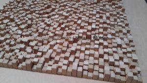 project Composizione Oro e Legno 2- 5- Mozaïekatelier Colorito-Natasja Mulder