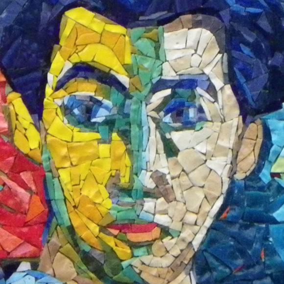 the-green-line-2x2-venus-2x2-Mozaiekatelier Colorito-Natasja Mulder