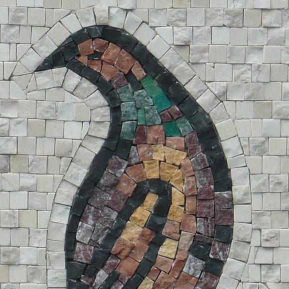 vogel-van-aquileia-2x2-natuur--mozaïekatelier Colorito-Natasja Mulder