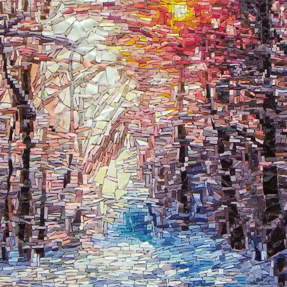 winter-wonderland-2x2-mozaïekatelier Colorito-Natasja Mulder