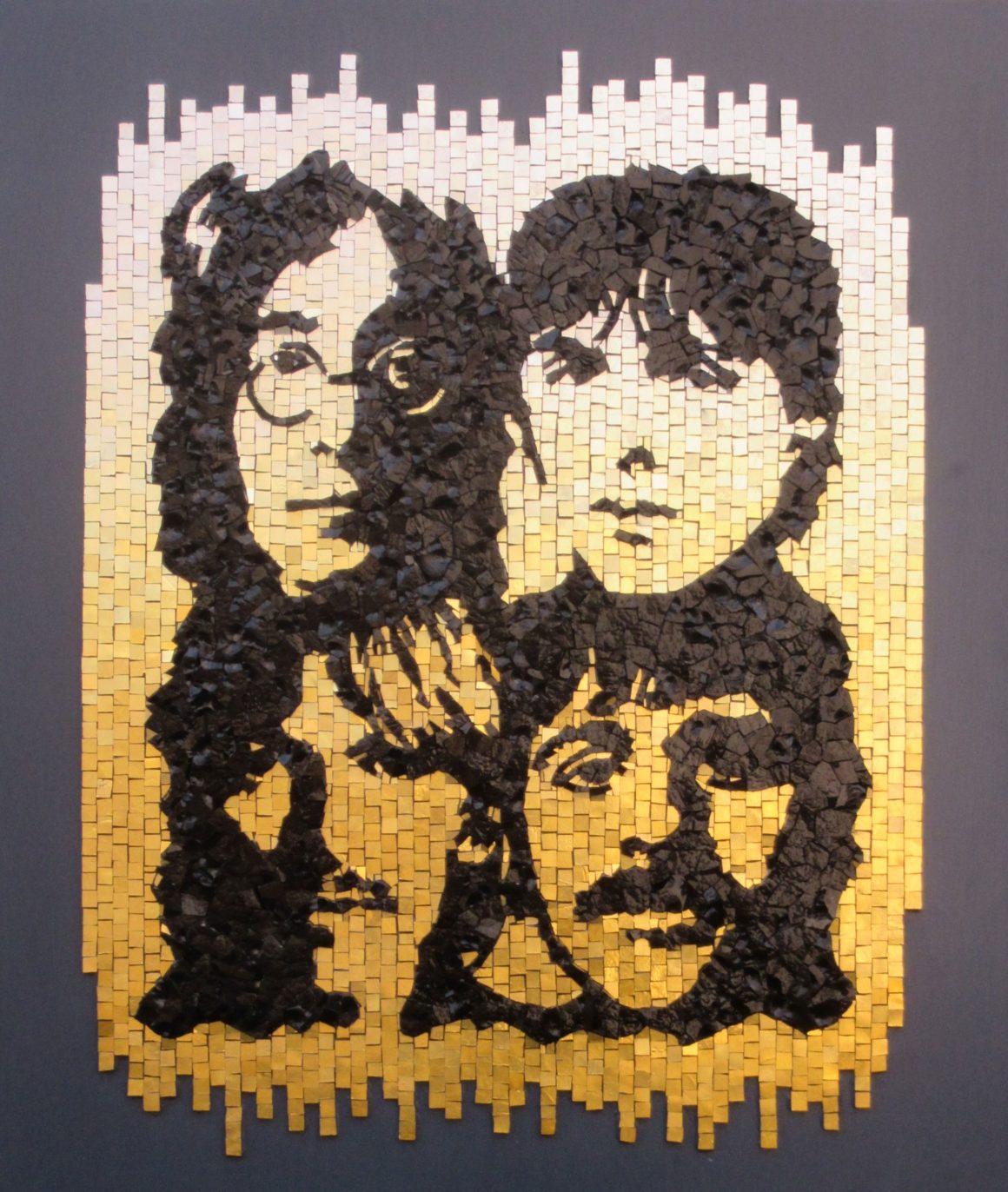 The Beatles -Mosaic by Colorito- Mozaïekatelier Colorito-Natasja Mulder