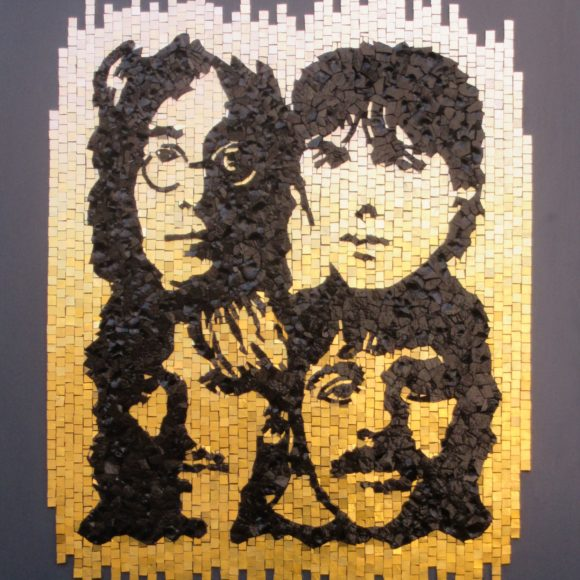 The Beatles -Mosaic by Colorito- Mozaïekatelier Colorito-Natasja Mulder