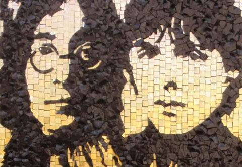 Mosaic project - The Beatles- Mosaic Studio Colorito-Natasja Mulder