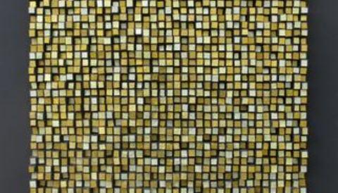 Composizione Oro e Legno 5-uitsnede - 480332-Mozaïekatelier Colorito-Natasja Mulder