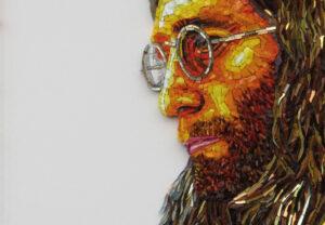 John Lennon- Mosaic-Mozaïekatelier Colorito-Natasja Mulder