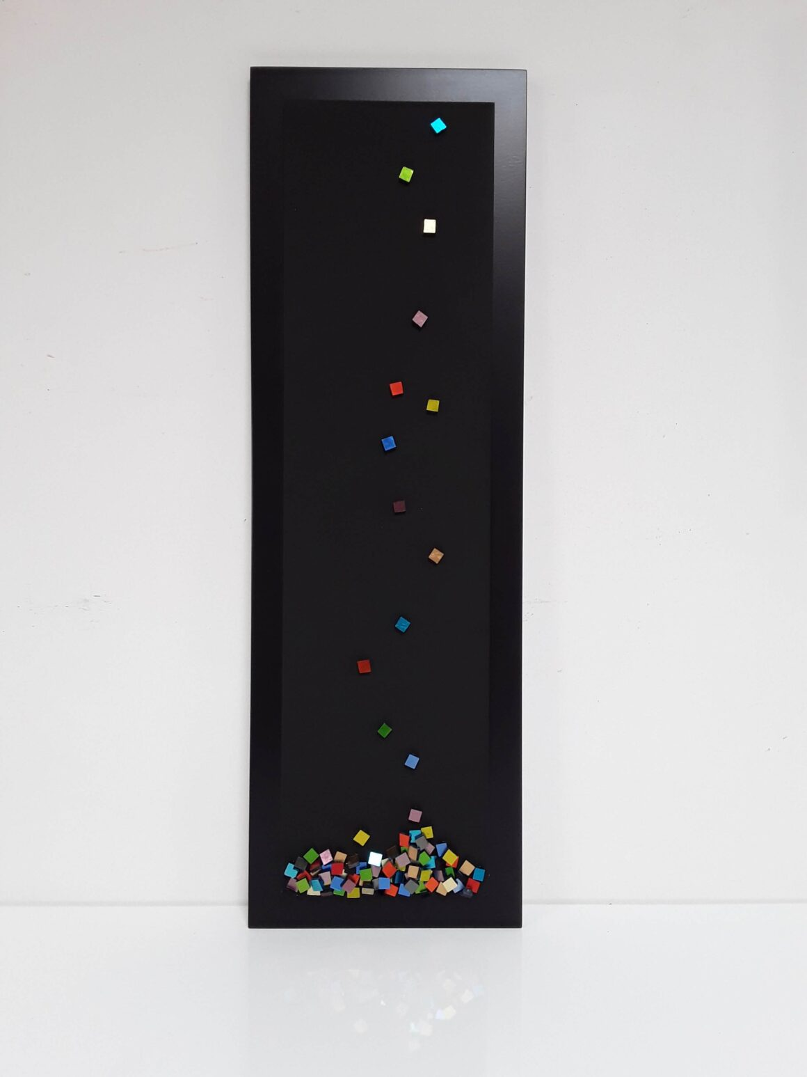 Mosaic art- Shattered- Free work-Mozaïekatelier Colorito- Natasja Mulder