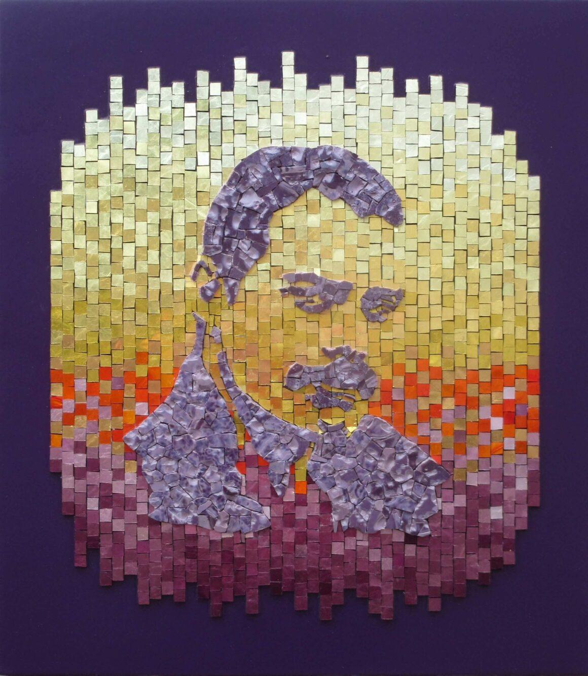 Freddie Mercury- Mosaic- A kind of magic-Mozaïekatelier Colorito-Natasja (3)